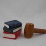 Law books & gavel